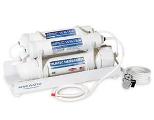 Apec Portable Countertop Reverse Osmosis Water Filter System Review