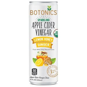 Botonics Sparkling Organic Apple Cider Vinegar Tonic Review