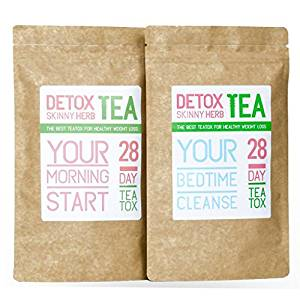 Detox Skinny Herb Tea 28 Day Teatox Review