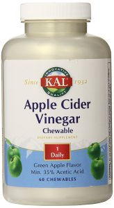 Kal Apple Cider Vinegar Chewable Tablets Review
