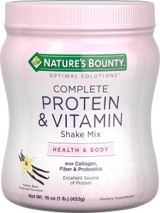 Natures Bounty Optimal Solutions Protein Shake Review