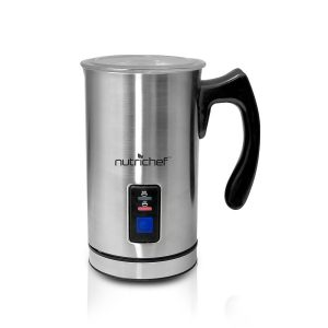 Nutrichef PKMFR10 Electric Milk Frother Stainless Steel Review