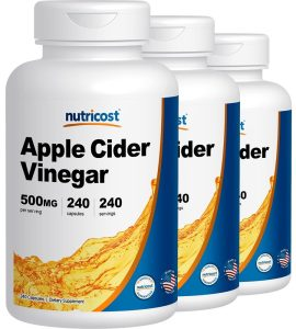 Nutricost Apple Cider Vinegar Capsules Review
