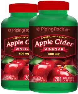 Piping Rock Mega Potency Apple Cider Vinegar Capsules Review