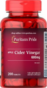 Puritans Pride Apple Cider Vinegar Tablets Review