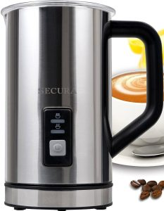Secure Automatic Electric Milk Frother Review