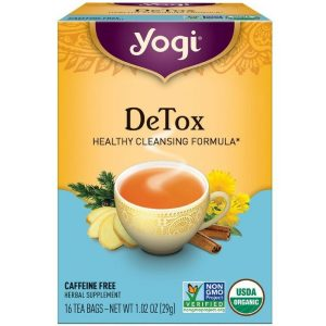 Yoga Herbal Detox Tea Review