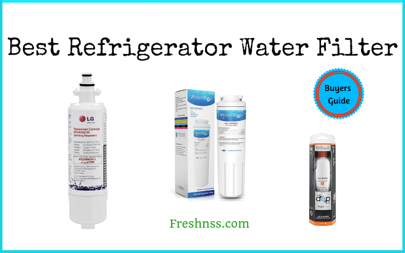 Best Refrigerator Water Filter Reviews (2020 Buyers Guide)