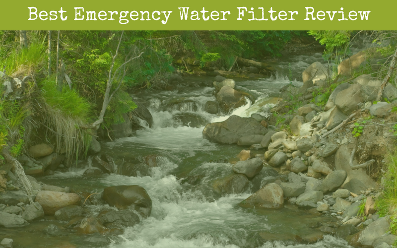 Best Emergency Water Filter Reviews of 2018