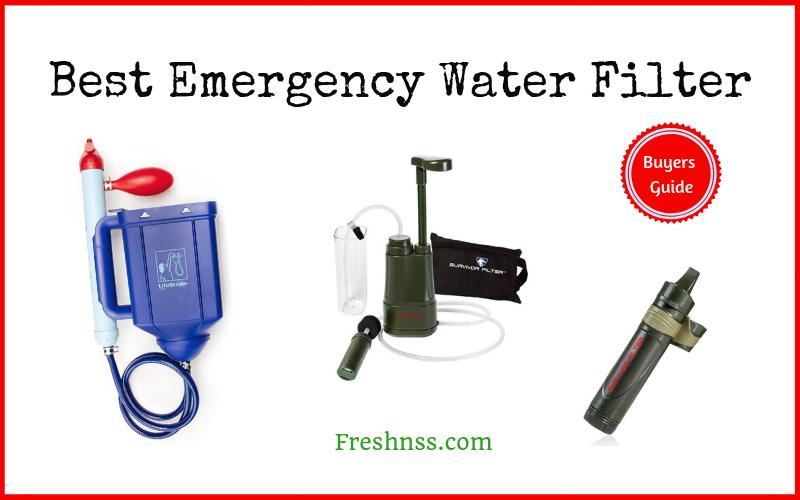 Best Emergency Water Filter Reviews (2020 Buyers Guide)