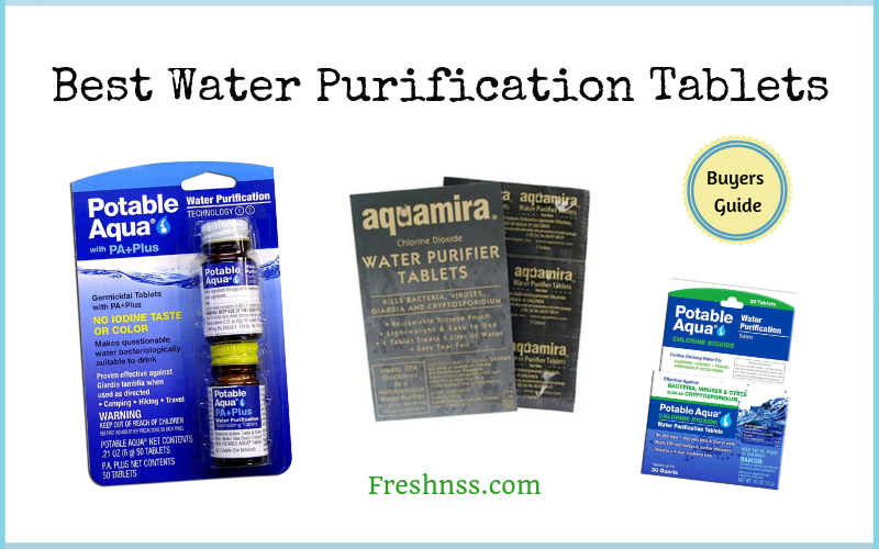 Best Water Purification Tablets Review of 2019