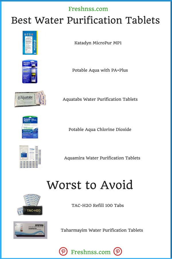 Best Water Purification Tablets Reviews