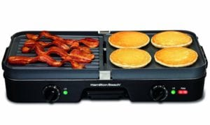 Hamilton Beach 3-in-1 grill/griddle Review