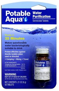 Potable Aqua Water Purification Treatment Review