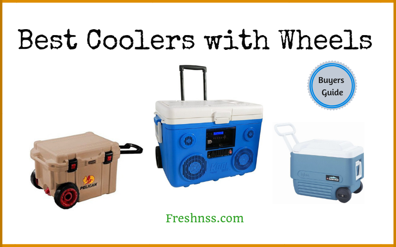 Best Coolers with Wheels (2020 Buyers Guide)