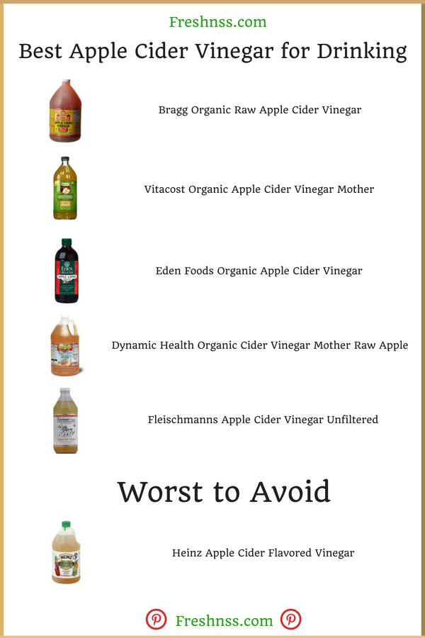 Best Apple Cider Vinegar for Drinking