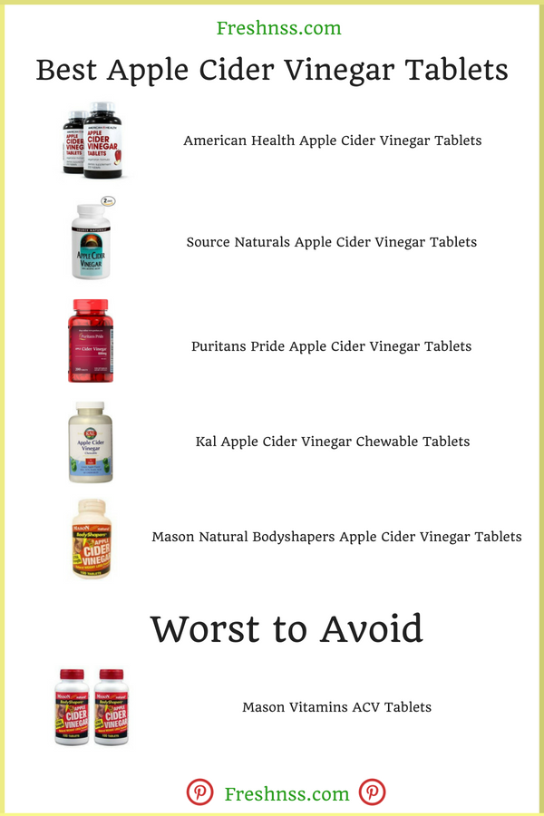 Best Apple Cider Vinegar Tablets