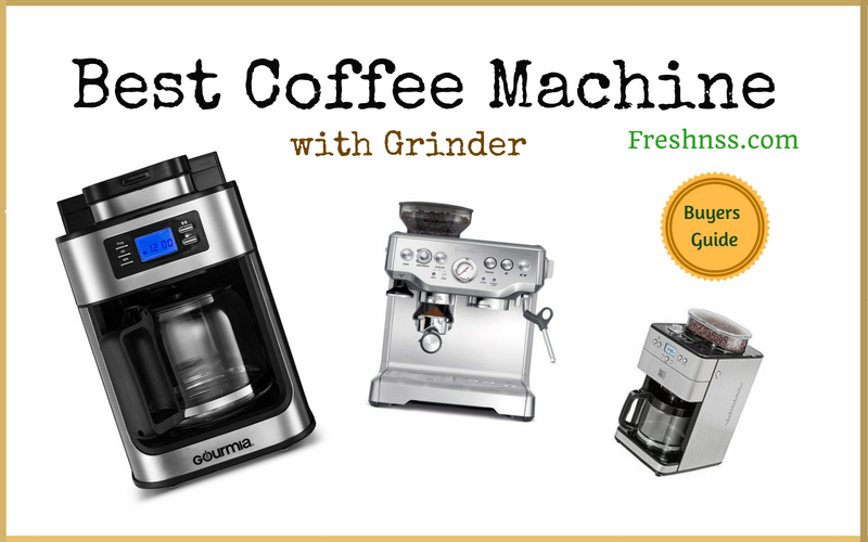 Best Coffee Machine with Grinder (2020 Buyers Guide)
