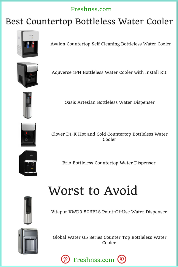 Best Countertop Bottleless Water Cooler Reviews