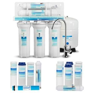 Geekpure 5-Stage Reverse Osmosis Drinking Water Filter System Review