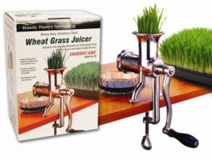 Handy Pantry HJ Hurricane Stainless Steel Manual Wheatgrass Juicer Review