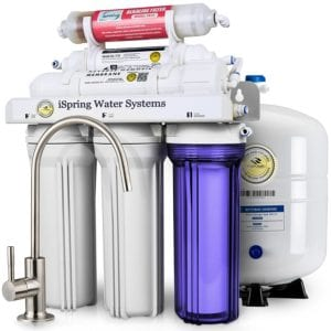 iSpring RCC7AK High Capacity Under Sink 6-Stage Reverse Osmosis System Review