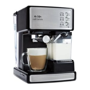 Mr. Coffee BVMC-ECMP1000-RB Café Barista Espresso Maker Review