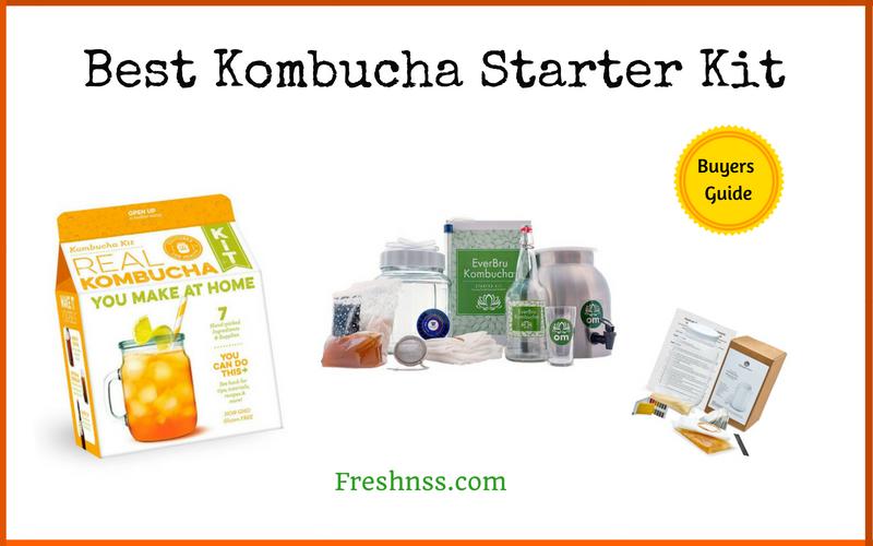 Best Kombucha Starter Kit of 2018