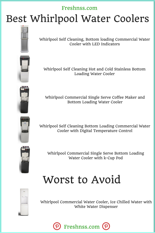 Best Whirlpool Water Coolers