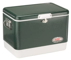Coleman Camping Tailgating 54 QT Stainless Steel Belted Ice Chest Review