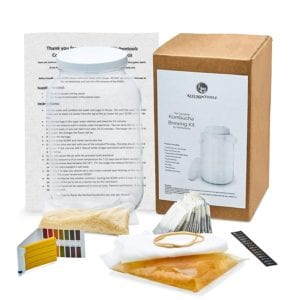 Complete Kombucha Starter Brewing Kit by Kitchentoolz Review