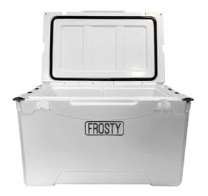 Frosty 75 Wheeled Rotomold Cooler Review