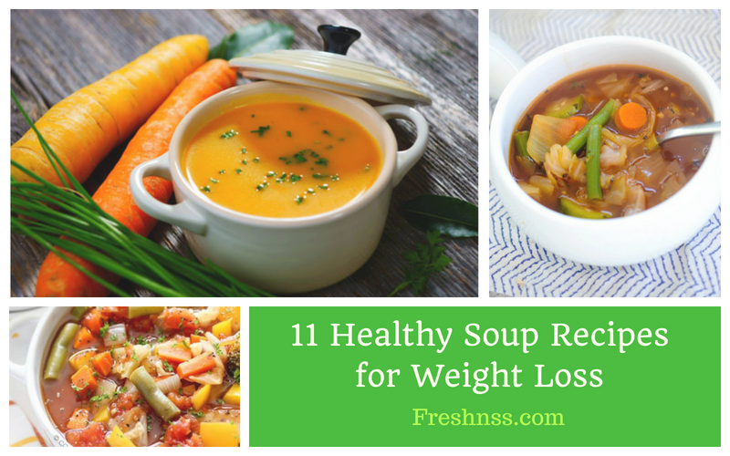 11 Best Healthy Soup Recipes for Weight Loss of 2019