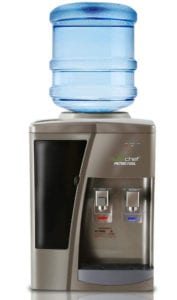 Nutrichef Countertop Water Cooler Dispenser with Hot and Cold Water Review