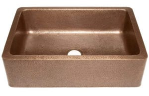 Sinkology Adams Farmhouse Apron Front Handmade Copper Kitchen Sink Review