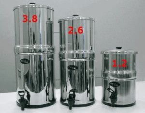 Stainless Steel Gravity Water Filter BODY ONLY for AquaCera, Doulton, Berkefeld and Berkey Filters Review