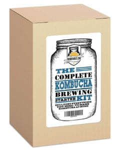 The Complete Kombucha Brewing Starter Kit by Fermentaholics Review