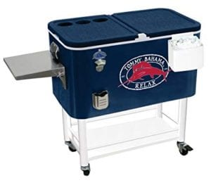 Tommy Bahama 100 Qt Stainless Steel Rolling Party Cooler Review