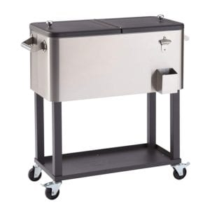 Trinity TXK-0802 Stainless Steel Cooler with Shelf Review