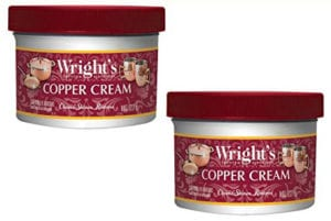 Wrights Copper and Brass Polish and Cleaner Cream