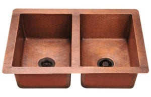 902 Double Equal Bowl Copper Sink by MR Direct Review