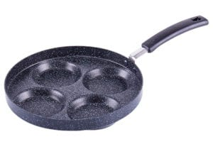 Aluminium 4 Cup Egg Frying Pan Non Stick by MyLifeUNIT Review