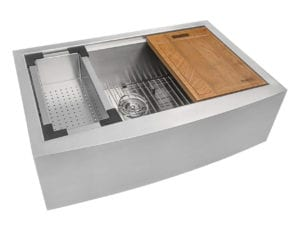 Apron Front 16 Gauge Kitchen Sink Single Bowl by Ruvati Review