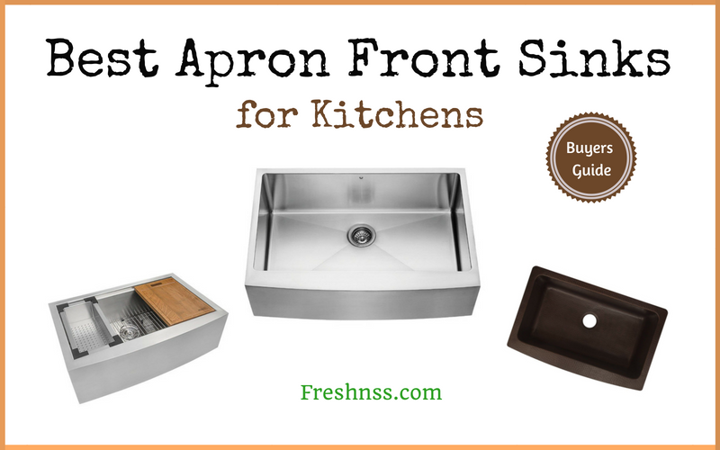 Best Apron Front Sinks for Kitchens (2020 Buyers Guide)