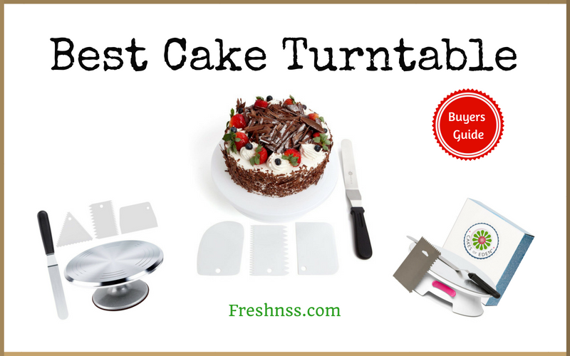 Best Cake Turntable Reviews of 2018