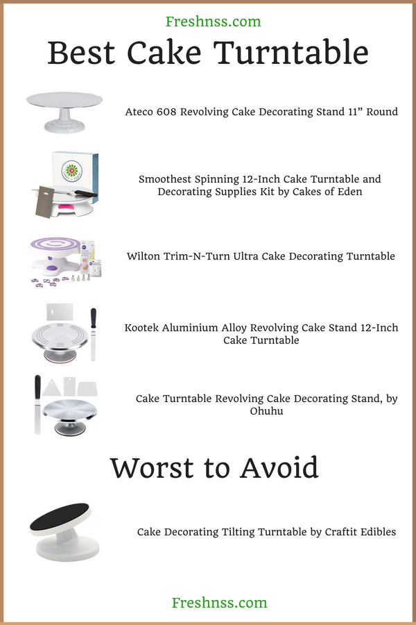 Best Cake Turntable