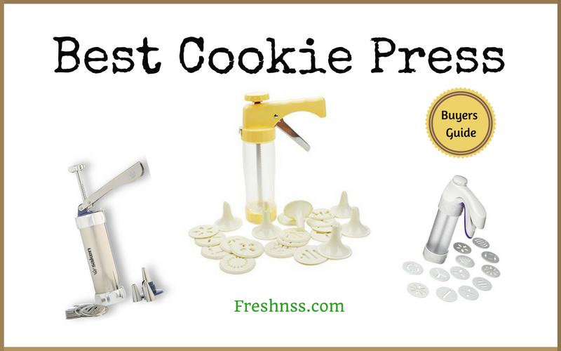 Best Cookie Press Reviews (2020 Buyers Guide)