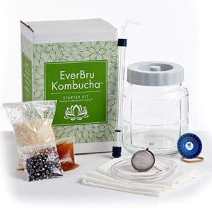 Everbru Kombucha Brewing Starter Kit with Scoby Review
