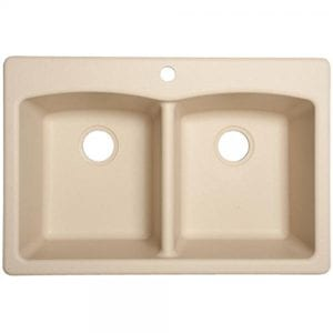 "Franke Ellipse 33"" Dual Mount Granite Double Bowl Kitchen Sink Review"