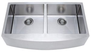 Franke Kinetic 33-Inch Apron Front Farmhouse Double Bowl Kitchen Sink Stainless Steel Review